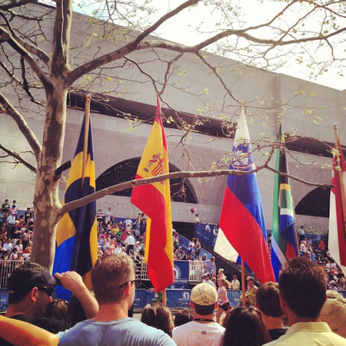 marathon flags