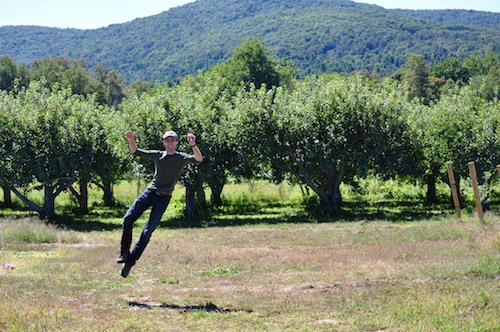 adam levitating