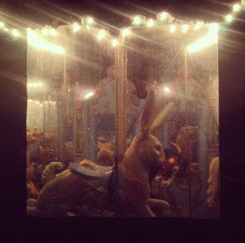 bunny carrousel