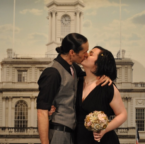 married kisses